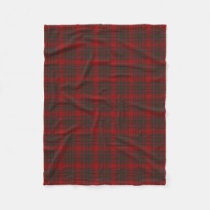 Scottish Clan MacDougall Classic Tartan Fleece Blanket