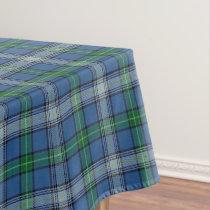 Scottish Clan MacDowall McDowell Tartan Tablecloth