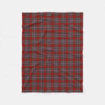 Scottish Clan MacFarlane Classic Tartan Fleece Blanket