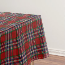 Scottish Clan MacFarlane Tartan Tablecloth