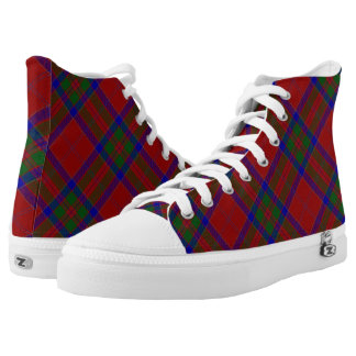 Scottish Clan MacGillivray Tartan High Tops