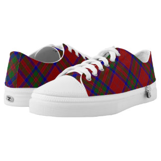 Scottish Clan MacGillivray Tartan Low Tops
