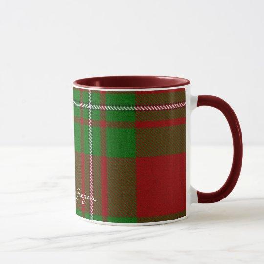 Scottish Clan MacGregor Tartan Designer Mugs