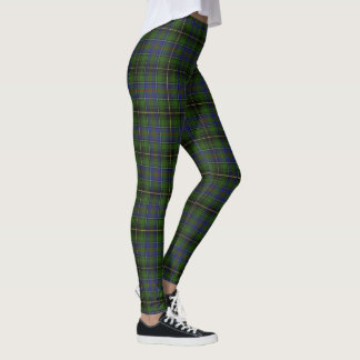 Scottish Clan MacInnes Tartan Leggings
