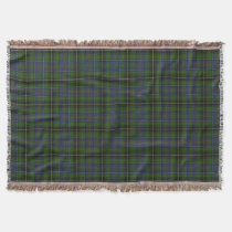 Scottish Clan MacInnes Tartan Throw Blanket