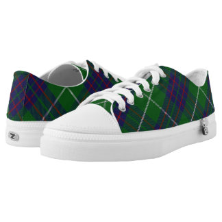Scottish Clan MacIntyre Tartan Low Tops