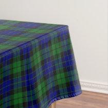 Scottish Clan MacKay Tartan Tablecloth