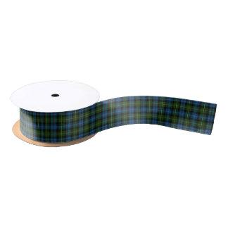 Scottish Clan MacKenzie Classic Tartan Satin Ribbon