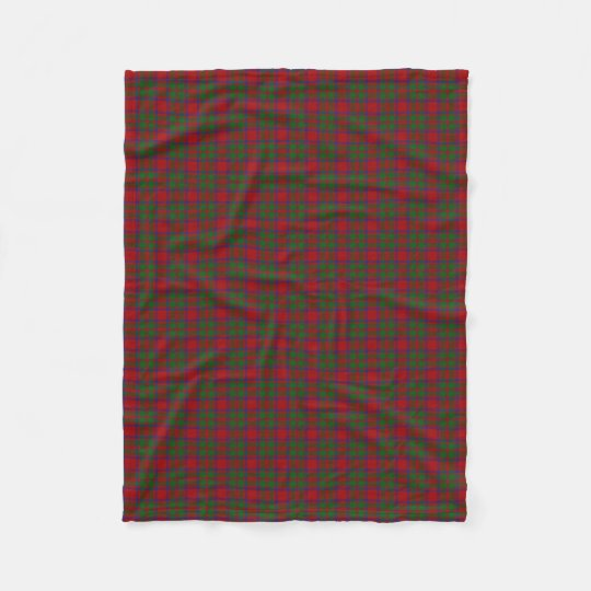 Scottish Clan MacKintosh MacIntosh Classic Tartan Fleece Blanket
