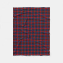 Scottish Clan MacLachlan Classic Tartan Fleece Blanket