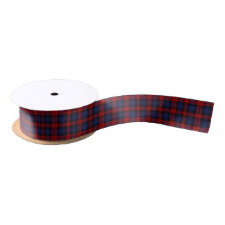 Scottish Clan MacLachlan Classic Tartan Satin Ribbon