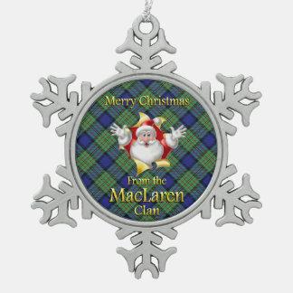Scottish Clan MacLaren Christmas Ornament