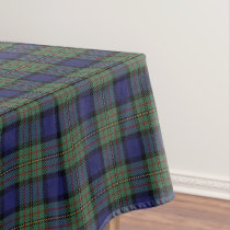 Scottish Clan MacLaren Tartan Tablecloth