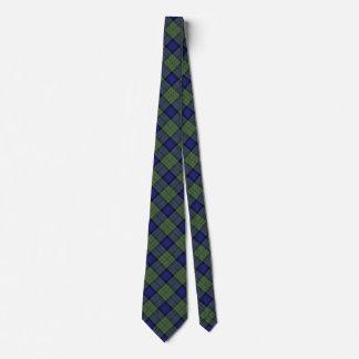 Scottish Clan MacLaren Tartan Tie