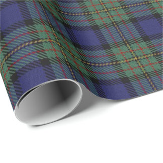 Scottish Clan MacLaren Tartan Wrapping Paper