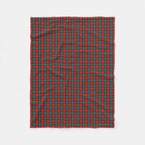 Scottish Clan MacLea Livingstone Classic Tartan Fleece Blanket
