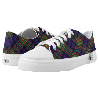 Scottish Clan MacLellan Tartan Low Tops