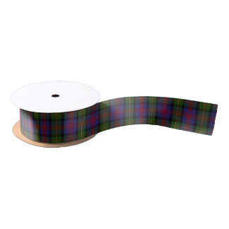 Scottish Clan MacLennan Classic Tartan Satin Ribbon