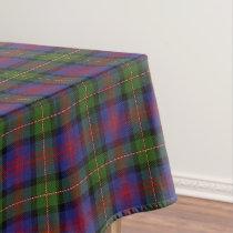 Scottish Clan MacLennan Tartan Tablecloth