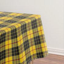 Scottish Clan MacLeod Celebration Tartan Tablecloth