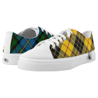 Scottish Clan MacLeod Classic Two in One Tartan Low Tops