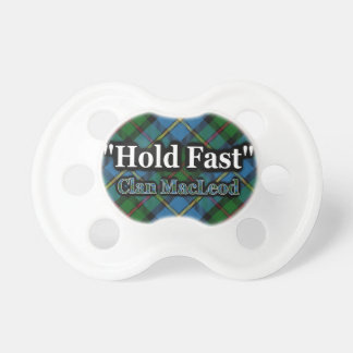 Scottish Clan MacLeod Hold Fast Motto Tartan Dummy