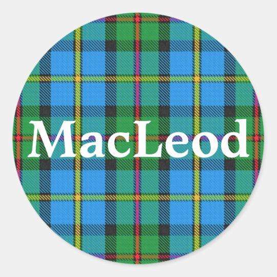 Scottish Clan MacLeod of Harris Tartan Plaid Classic