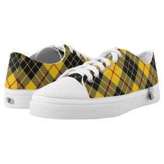 Scottish Clan MacLeod of Lewis Tartan Low Tops