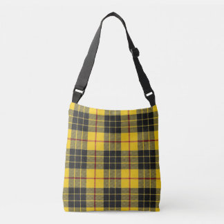 Scottish Clan MacLeod Two in One Tartan Plaid Crossbody Bag