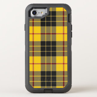 Scottish Clan MacLeod Yellow and Black Tartan OtterBox Defender iPhone 8/7 Case