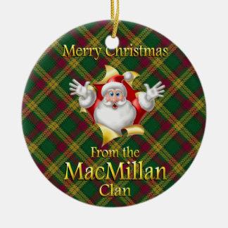 Scottish Clan MacMillan Christmas Ornament