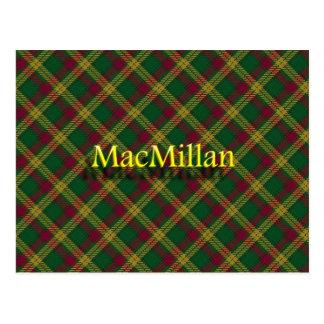 Scottish Clan MacMillan Postcard