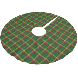 Scottish Clan MacMillan Tartan Brushed Polyester Tree Skirt