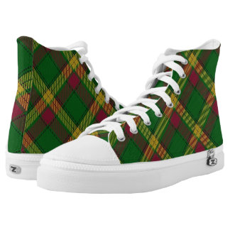 Scottish Clan MacMillan Tartan High Tops