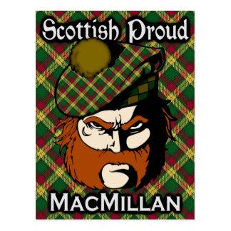 Scottish Clan MacMillan Tartan Postcard