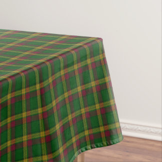 Scottish Clan MacMillan Tartan Tablecloth