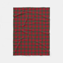 Scottish Clan MacNab Classic Tartan Fleece Blanket