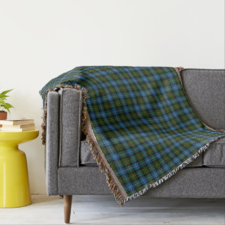 Scottish Clan MacNeil Tartan Throw Blanket