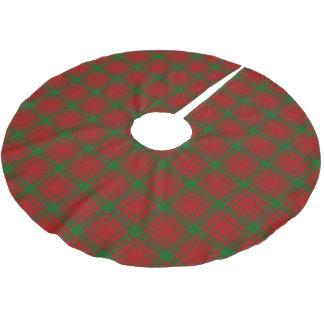 Scottish Clan MacQuarrie Tartan Brushed Polyester Tree Skirt