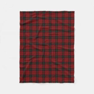 Scottish Clan MacQueen Classic Tartan Fleece Blanket