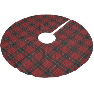 Scottish Clan MacQueen Tartan Brushed Polyester Tree Skirt