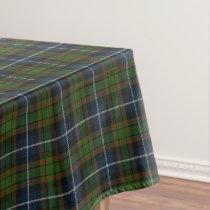 Scottish Clan MacRae Tartan Tablecloth