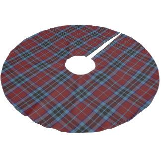 Scottish Clan MacTavish Tartan Brushed Polyester Tree Skirt