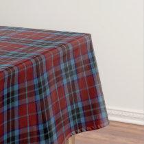 Scottish Clan MacTavish Tartan Tablecloth