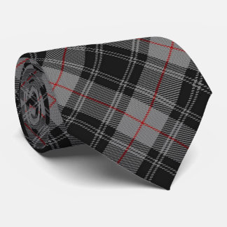 Scottish Clan Moffat Tartan Plaid Tie