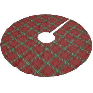 Scottish Clan Morrison Tartan Brushed Polyester Tree Skirt