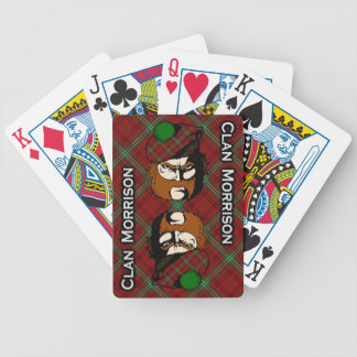 Scottish Clan Morrison Tartan Deck Card Deck