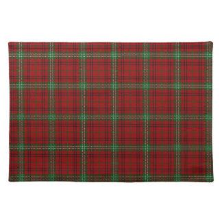 Scottish Clan Morrison Tartan Place Mat
