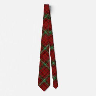 Scottish Clan Morrison Tartan Tie