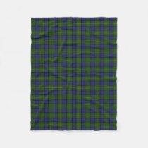 Scottish Clan Muir Classic Tartan Fleece Blanket